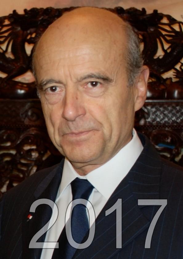 Alain Juppé candidat aux éléctions présidentielles de 2017