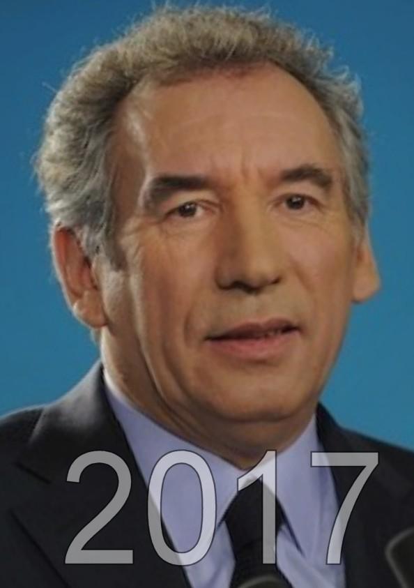 François Bayrou candidat aux éléctions présidentielles de 2017