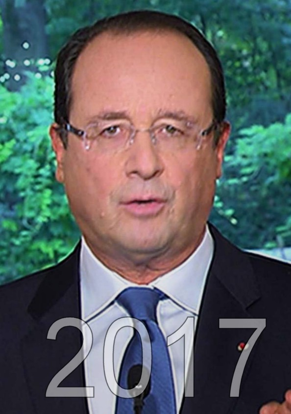 François Hollande élection presidentielle 2017, candidat