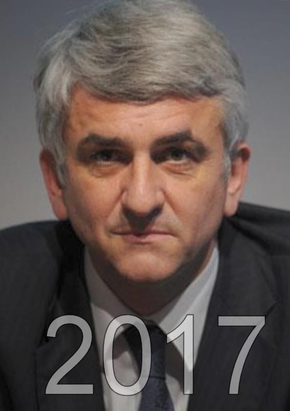 Hervé Morin candidat aux éléctions présidentielles de 2017