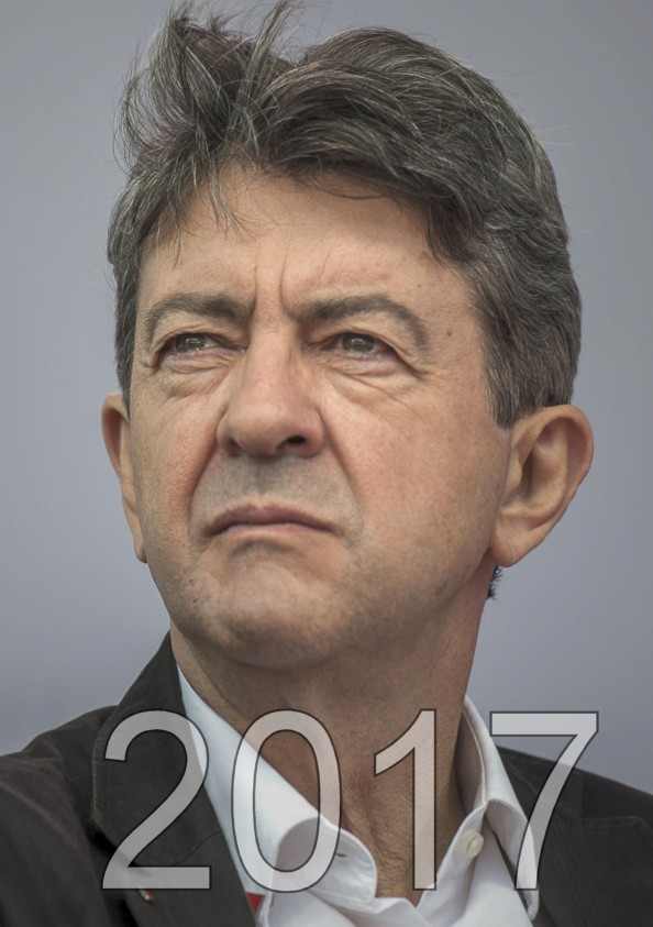 Jean Luc Melenchon candidat aux éléctions présidentielles de 2017