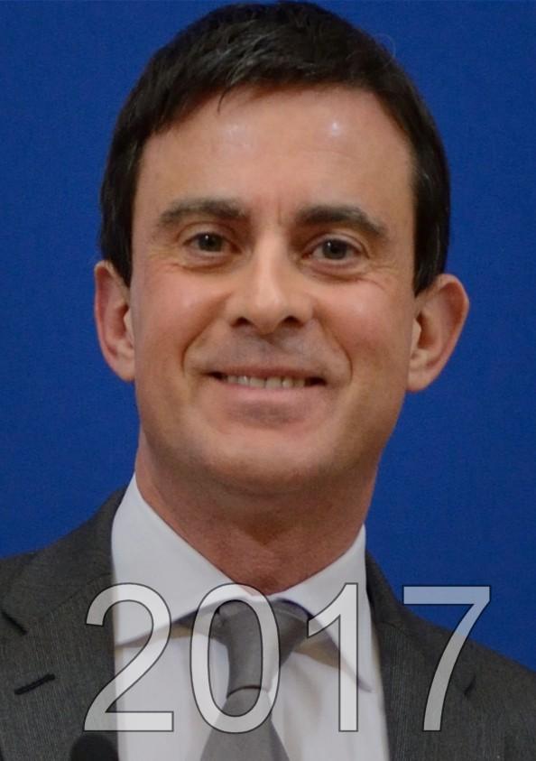 Manuel Valls candidat aux éléctions présidentielles de 2017