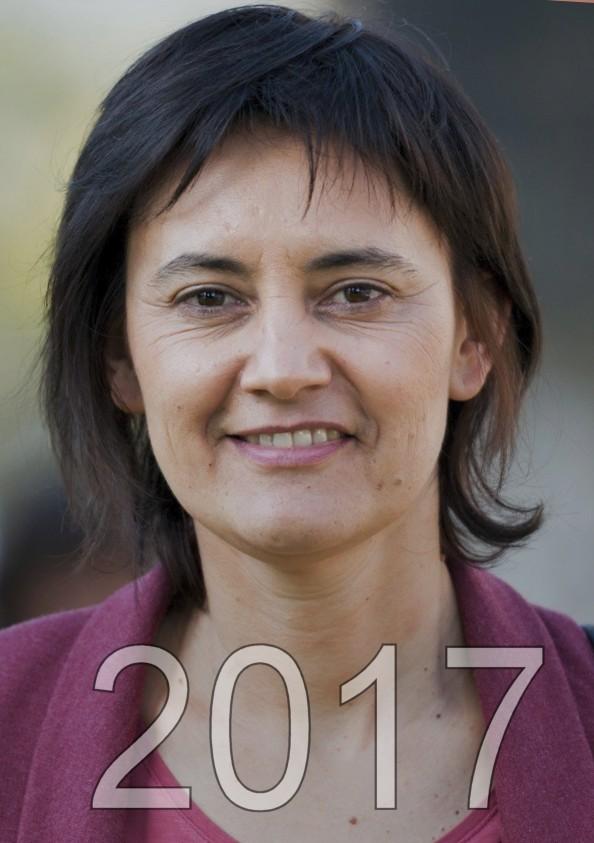 Nathalie Arthaud candidat aux éléctions présidentielles de 2017